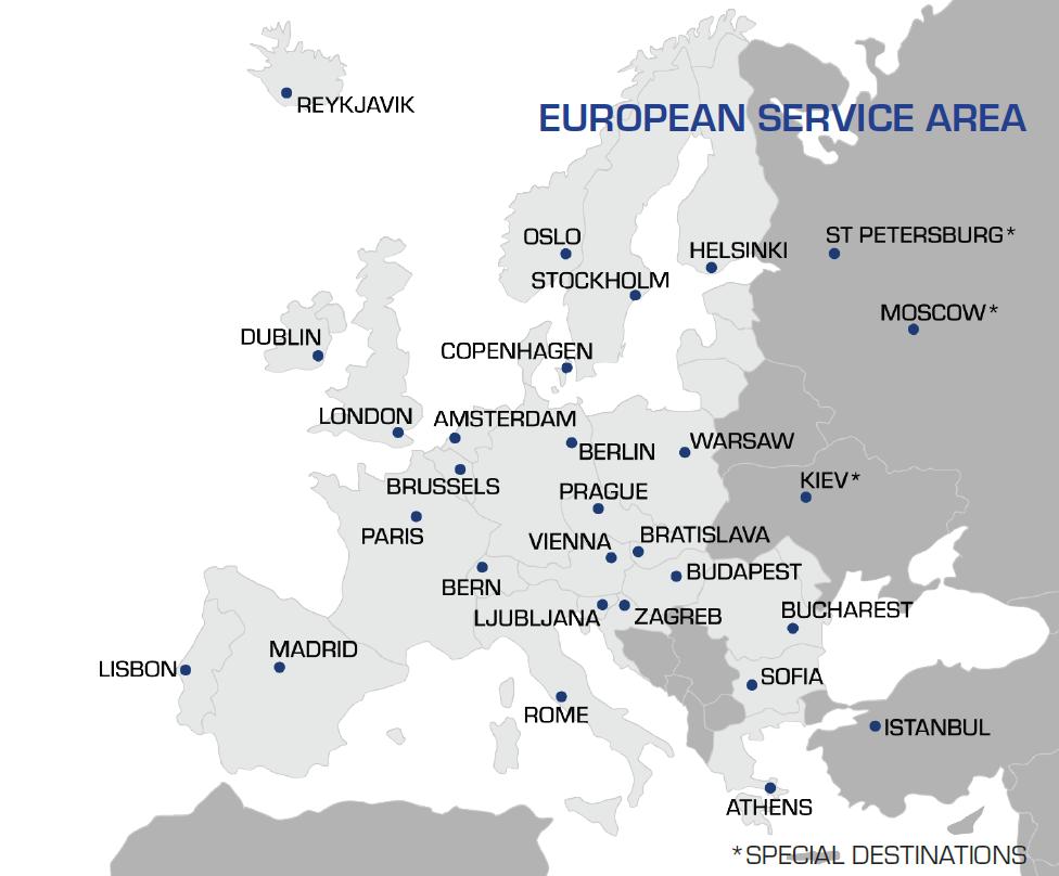 European Service Area